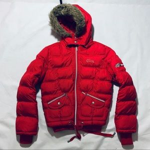 GUESS JEANS KIDS PUFFER JACKET
